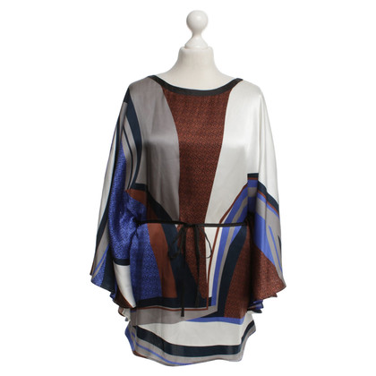 Aigner Silk blouse with pattern
