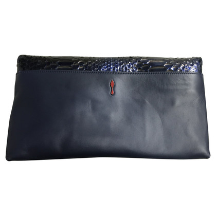 Christian Louboutin clutch Python Leather