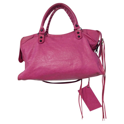 Balenciaga Pink city bag