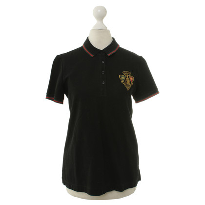 Gucci Polo shirt in black