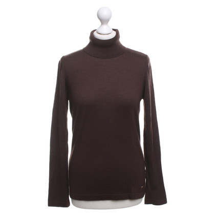 Escada Turtleneck sweater in brown