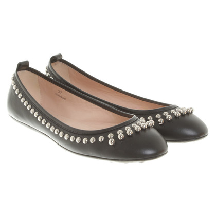Tod's Ballerinas with studs