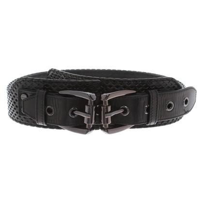 Burberry Waist belt in black