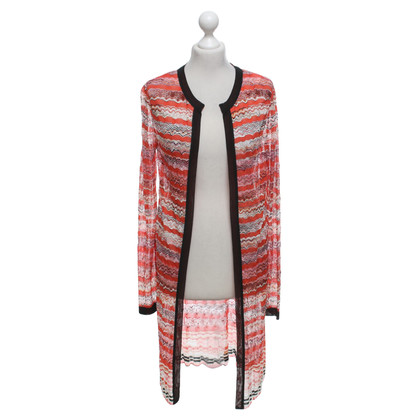 Missoni Knitted coat in multicolor