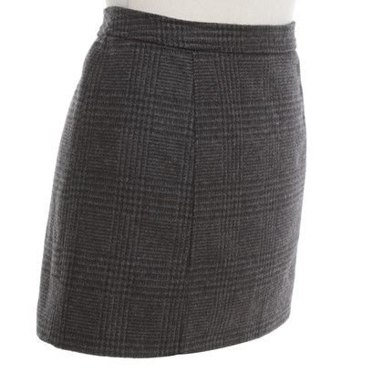 D&G Mini skirt in grey / Black