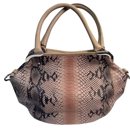 Aigner Handbag in snake look