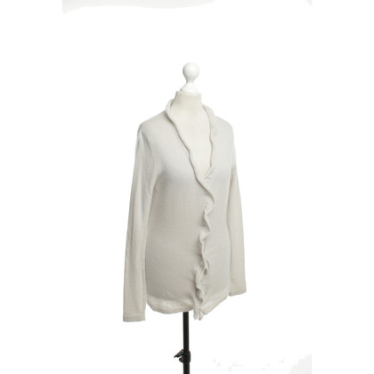 Allude Cashmere Cardigan in beige