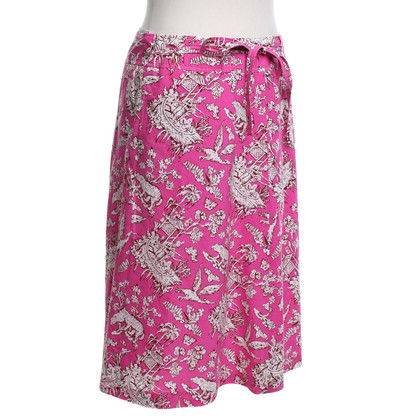 Cacharel Wrap skirt with print
