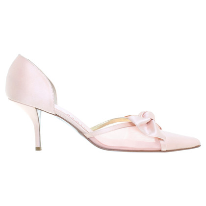 Walter Steiger Satin Pumps in Rosé