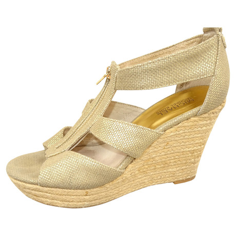 Michael Kors Kors Gold Michael Goldfarbene Wedges Wedges Goldfarbene Wedges Goldfarbene Kors Gold Michael AtIArqWw