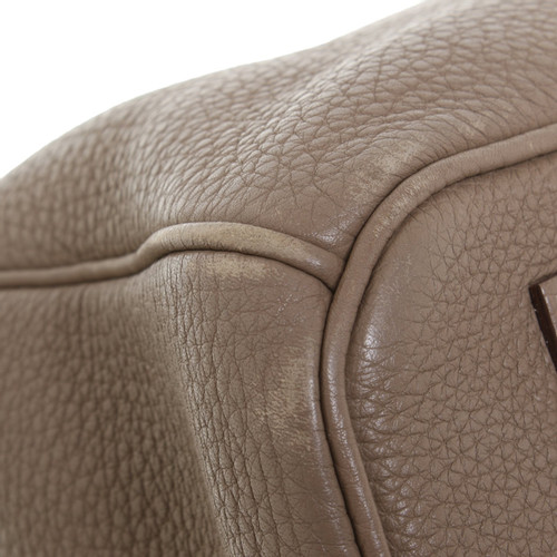951d931a4f61 Hermès Birkin Bag 35 Leather in Taupe - Second Hand Hermès Birkin ...