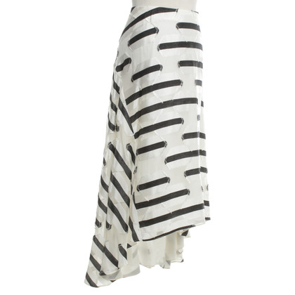 Chloé skirt in black and white