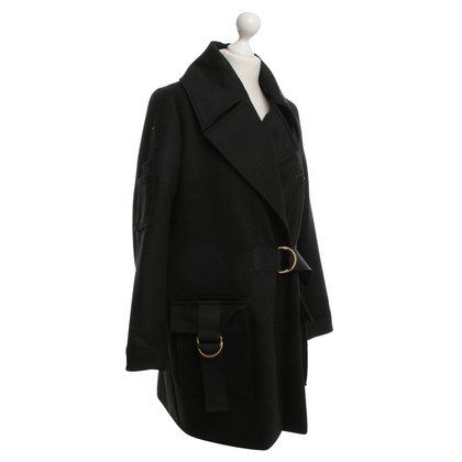 Lala Berlin oversize coat in black