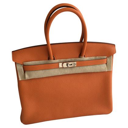 "Hermès ""Birkin Bag 35"" aus Clémence-Leder"