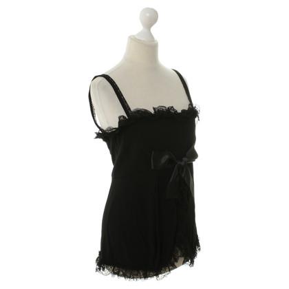 Balenciaga Top lingerie look