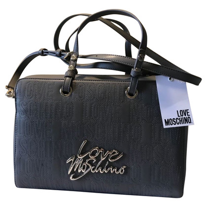 Moschino Love Tas met monogrampatroon