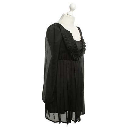 Patrizia Pepe Schwarzes Kleid