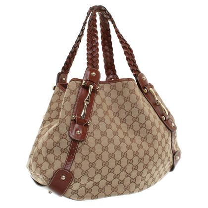 Gucci Pouch Bag Guccissima patterns