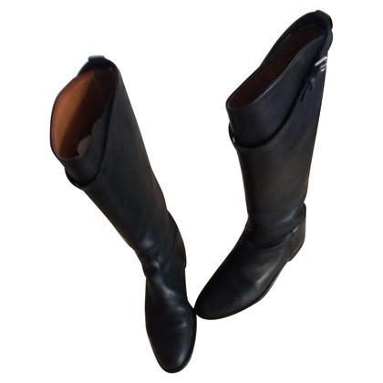 Hermès Stiefel im Reiterstil