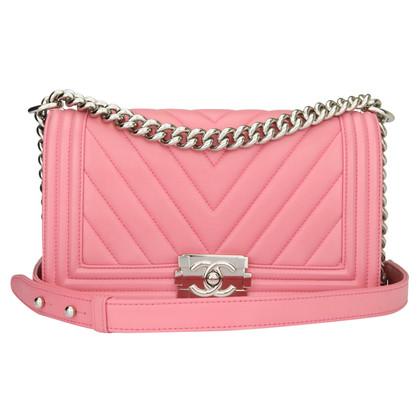 "Chanel ""Chevron Boy Bag Medium"""