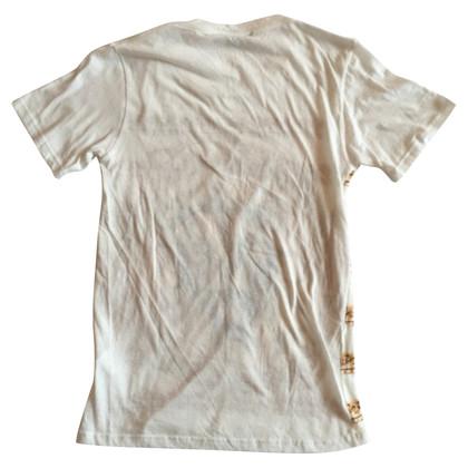 Balmain T-shirt con stampa a motivi