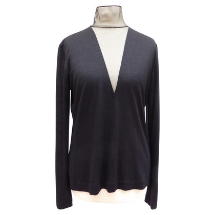 Akris Cashmere top with spout insert