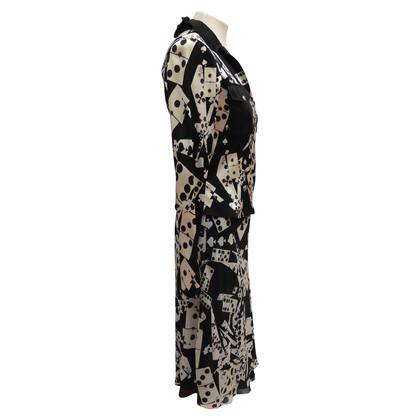 Christian Dior 2-delige zijden jurk