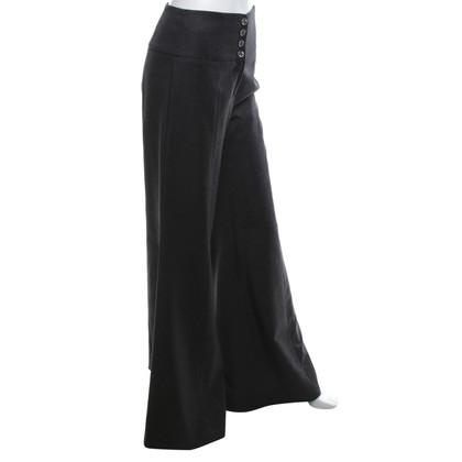 Chanel Wollen broek in Marlene stijl