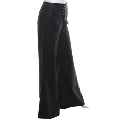 Chanel pantaloni di lana in stile Marlene