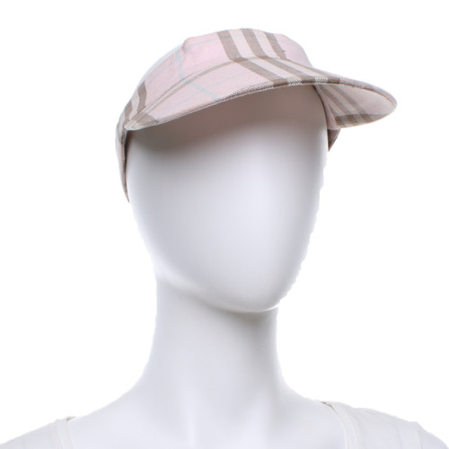 Burberry Hat Cap Cotton in Pink - Second Hand Burberry Hat Cap ... 1071ce1931e
