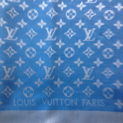 Louis Vuitton Monnogram denim cloth in blue