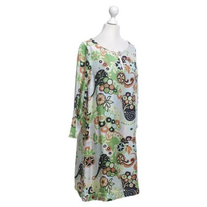 Tara Jarmon Seidenkleid mit floralem Print