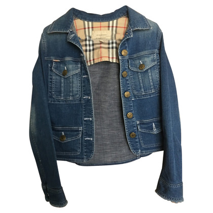 Burberry giacca di jeans
