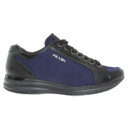 Prada Sneakers in blue / black