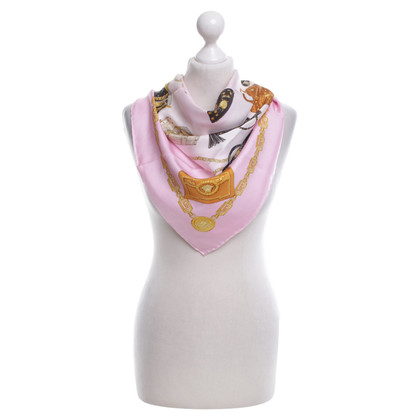 Versace Silk scarf with print motif