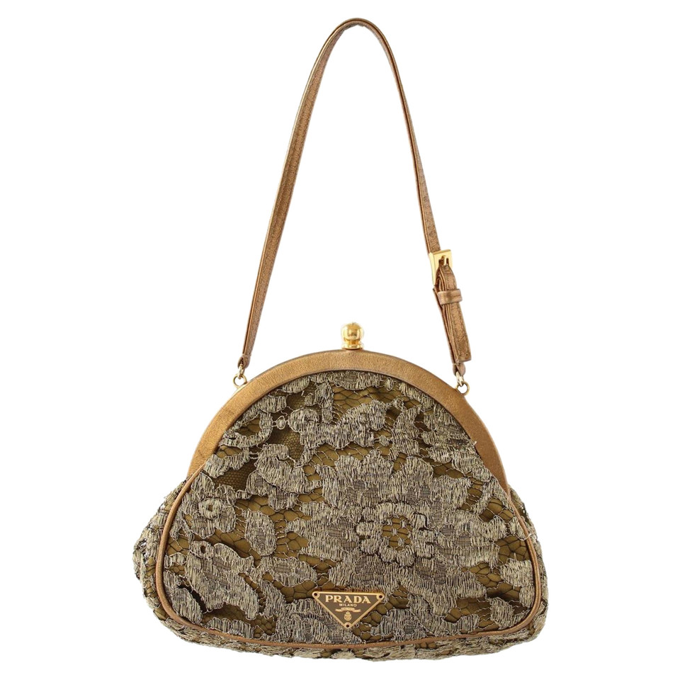 Prada Shoulder bag with lace