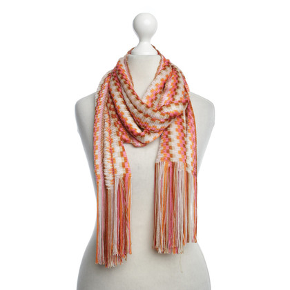 Missoni Scarf with colorful pattern