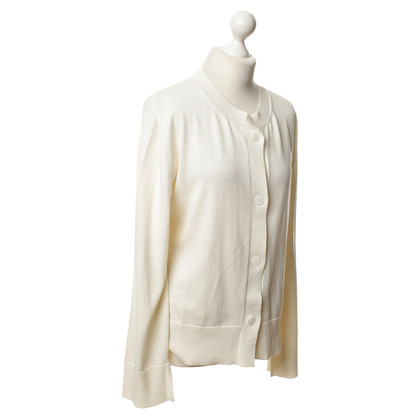 Jil Sander Strickjacke in Creme
