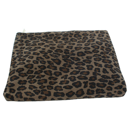 Golden Goose Leopard print clutch