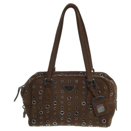 Prada Handbag with eyelets