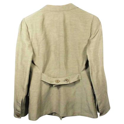 Armani Collezioni Blazers made of linen / silk
