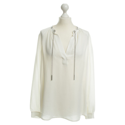 Michael Kors Silk blouse in white