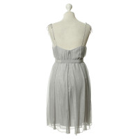Halston Heritage Silver dress with belt