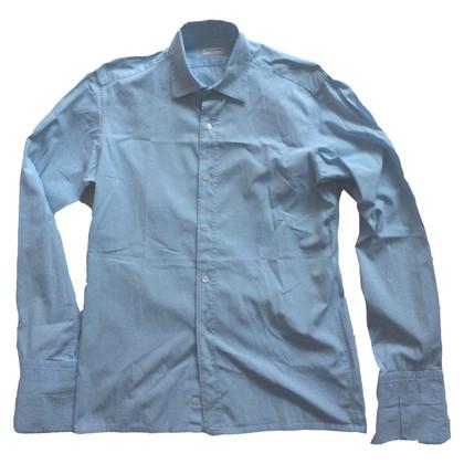 Dries van Noten blauw overhemd