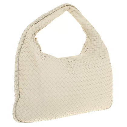 Bottega Veneta '' Medium Veneta Bag '' in cream