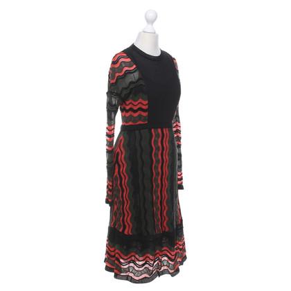 Missoni Mehrfarbiges Kleid