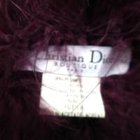 Christian Dior Marabou stole