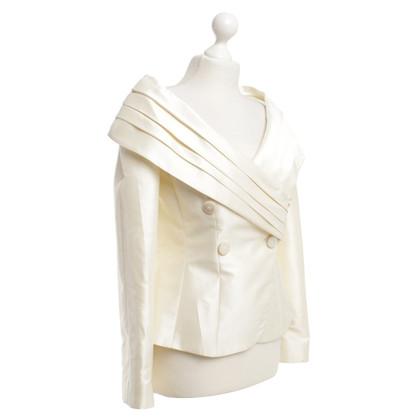 Armani Collezioni Blazer in crema