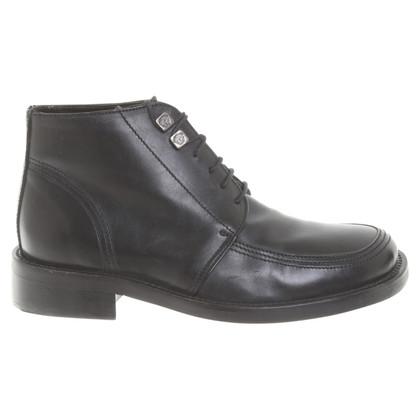Gianni Versace Veterschoenen in zwart