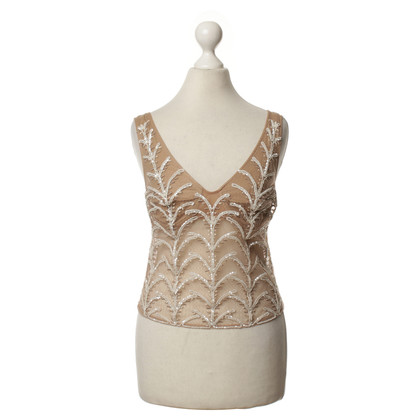 La Perla top with sequins